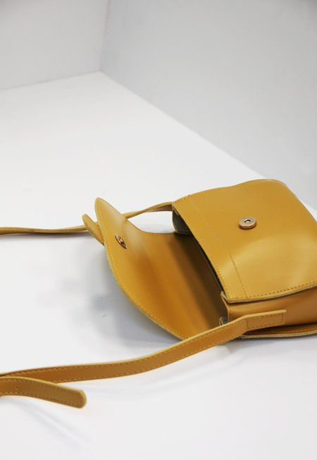 Collection & Co Kitrino Crossbody Bag - Mustard Yellow