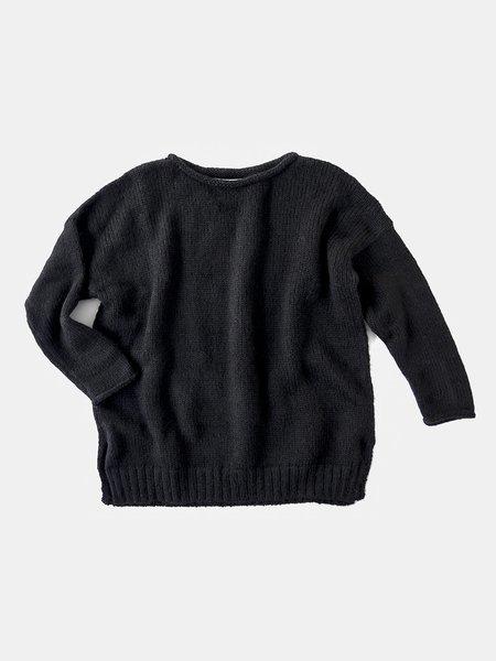 Erica Tanov Alpaca Rollneck Sweater - Black