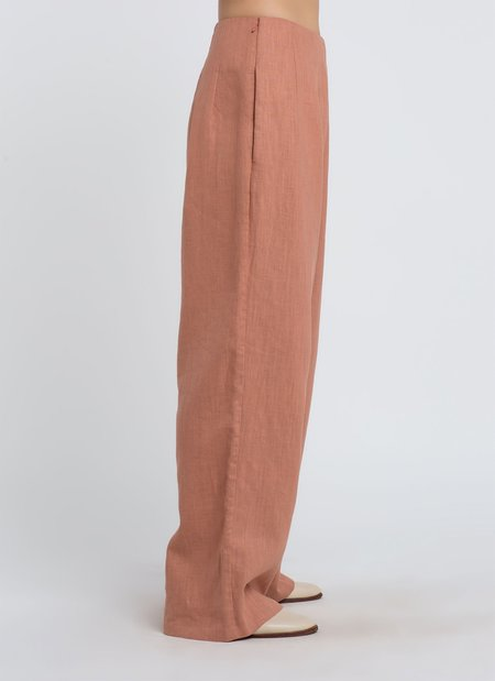 KAAREM Var Oversized Relaxed Pocket Pant - Clay