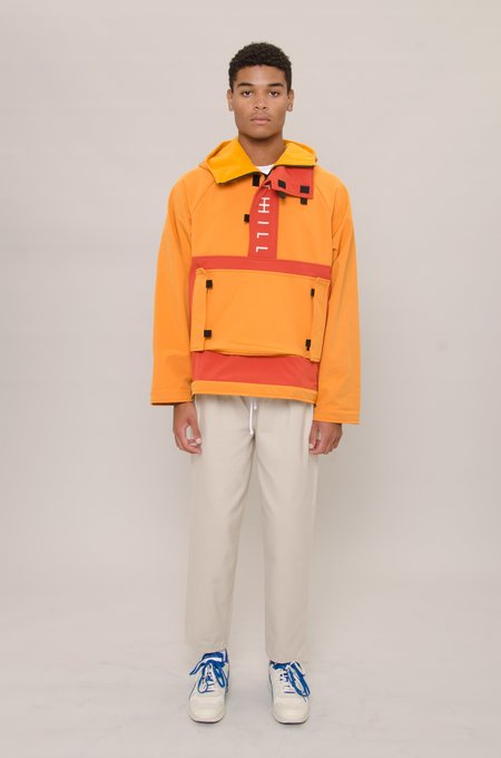 North Hill Pullover Anorak - Gold
