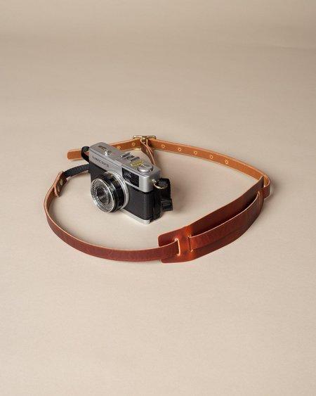 Wood&Faulk Camera Strap - Oiled Tan