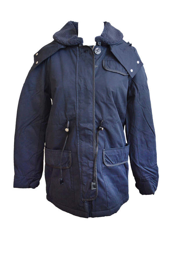 Sessun Skeena Coat in Navy