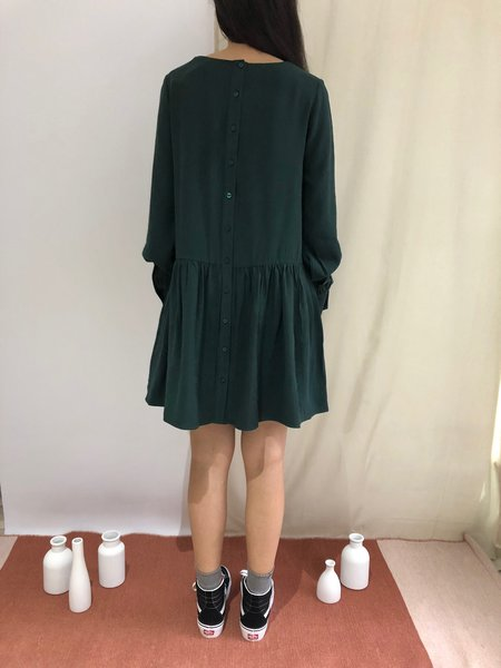 PEPALOVES AMELIE DRESS - GREEN