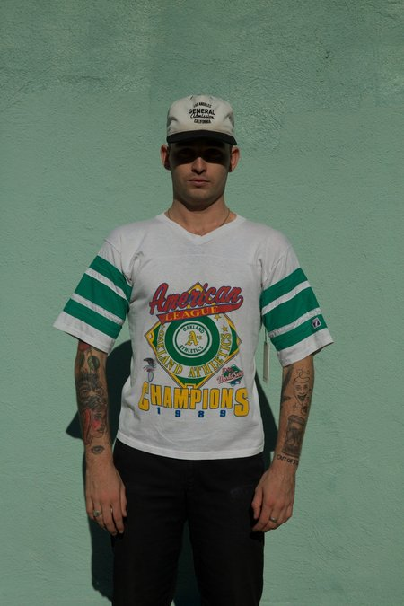 Vintage General Admission Oakland A's Jersey Tee