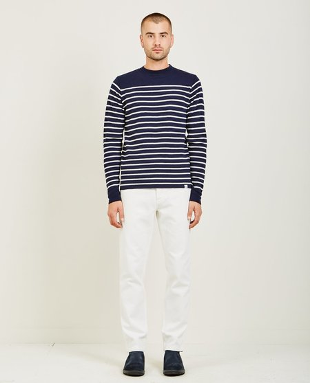 Norse Projects VERNER NORMANDY SWEATER - Navy