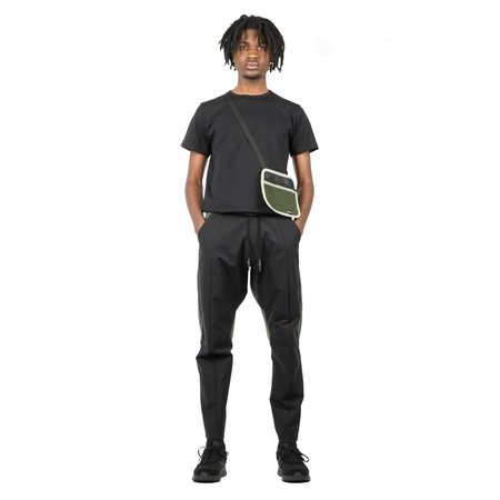BYBORRE D4 PANTS - BLACK/OLIVE
