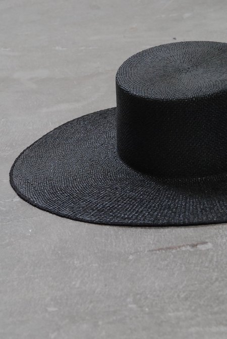 Janessa Leone Suzanne Hat - Black