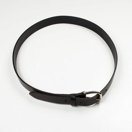 Laperruque Silver Buckle Belt - Black