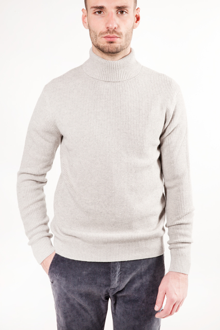 Minimum Foelle Turtleneck Sweater - Stone