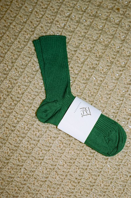 Baserange Over Ankle Socks - Galea Green