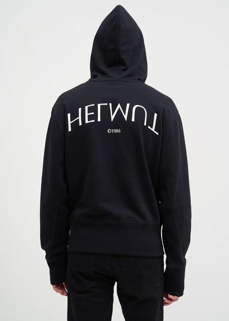 Helmut Lang Helmut Logo Hack Hoodie - Black