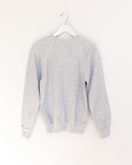 Carleen Patchwork Sweatshirt - Light Grey