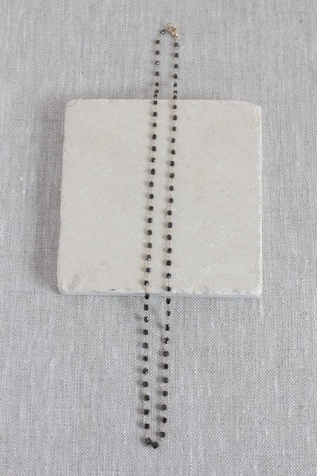 Dawn Bryfogle Black Diamond Barrels Necklace