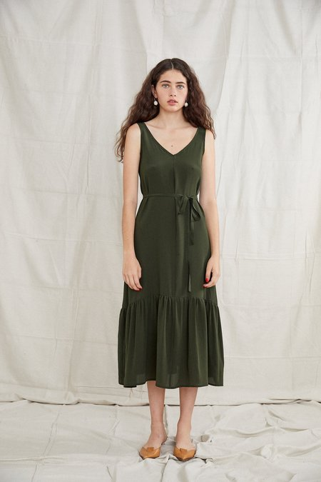 OVNA OVICH Bell Dress - Forest