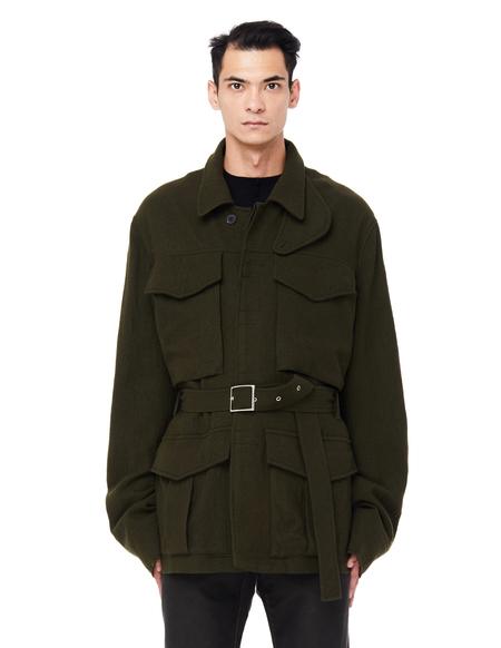 Haider Ackermann Safari Wool Jacket - Khaki