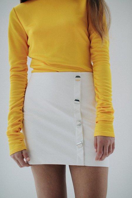 DAMA Rena Mini Skirt - White
