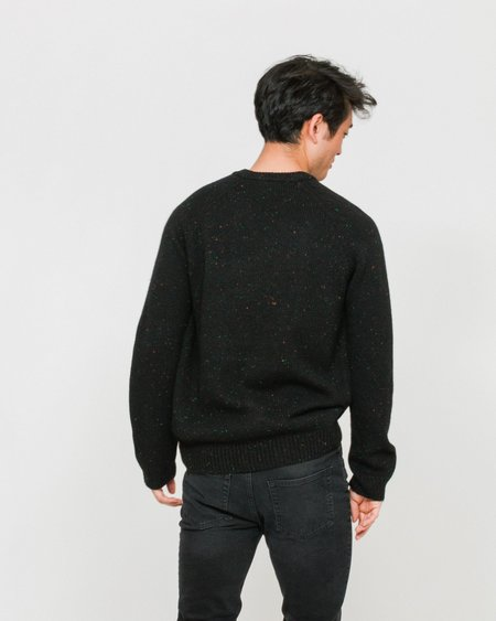 CARHARTT WIP Jersey Anglistic - Black Heather