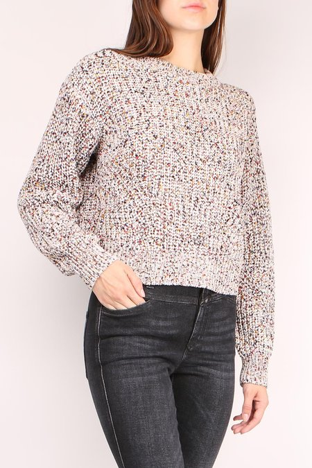 Veronica Beard Ryce Crewneck Sweater - Rainbow Multi