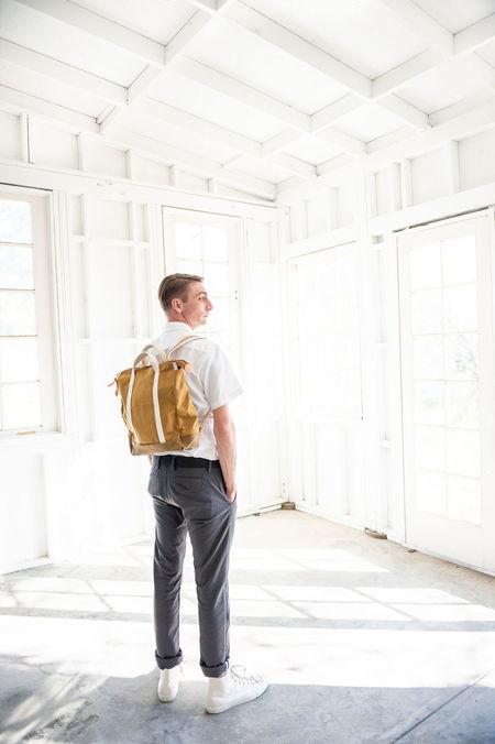Unisex Joshu+Vela baja backpack - NATURAL