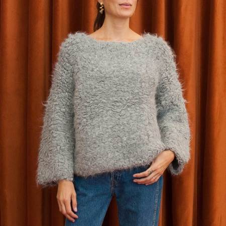 Lauren Manoogian Carpet Stitch Pullover
