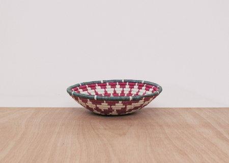 Kazi Medium Fig Intore Bowl - Mauve