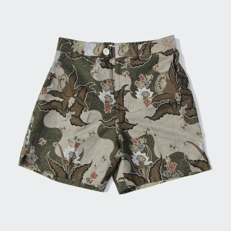 Footage Straits Shorts - Lotus Olive