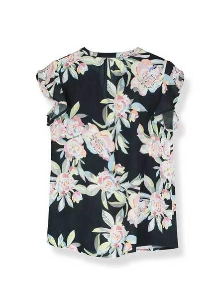 Pyrus Lulu Line Top - Line Floral