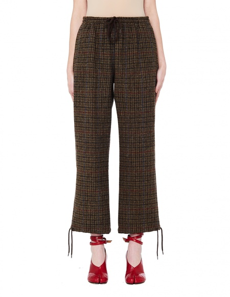 Undercover Tweed Trousers - Brown