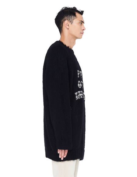 John Undercover Embroidered Sweater - Black