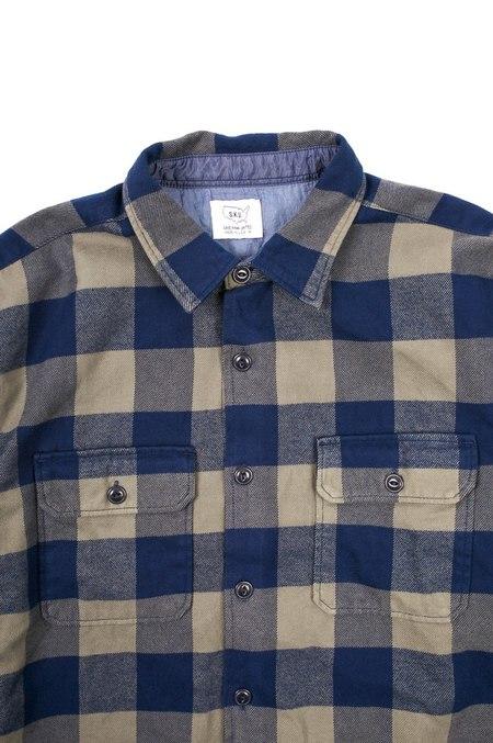 Save khaki United Buffalo Plaid Camp Shirt - Park