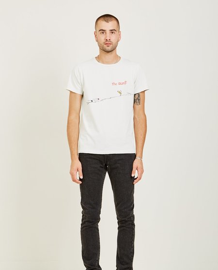 Remi Relief SURF SPECIAL FINISH TEE - OFF WHITE