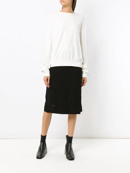Uma Raquel Davidowicz Amadeus Cut Out Skirt - Black
