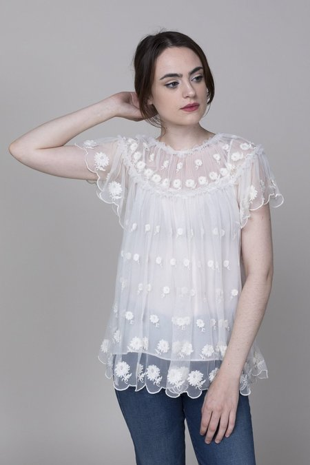 Ulla Johnson Bisou Top - Pearl