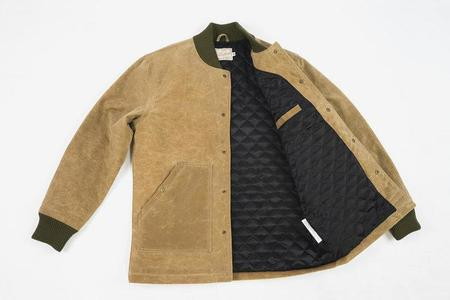 Dehen 1920 Ribbed Field Jacket