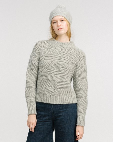 Micaela Greg Ply pullover - grey