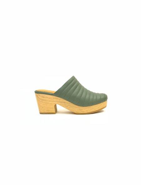 Beklina Lego Clog - Green