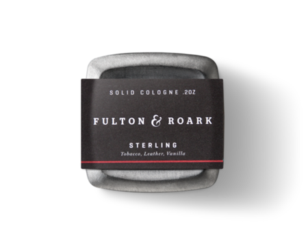 Fulton & Roark Sterling 2oz Solid Cologne