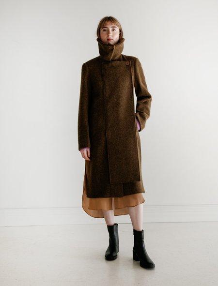 Lemaire Straight Coat - Peat