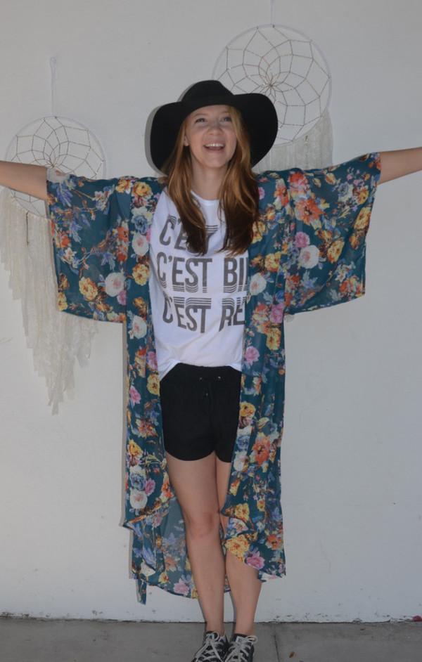 SHOW ME YOUR MUMU Mallory Wrap Kimono/Dress | Rosieo and Juliet