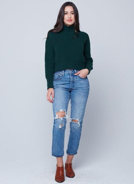 Knot Sisters Libby Mock-Neck Sweater