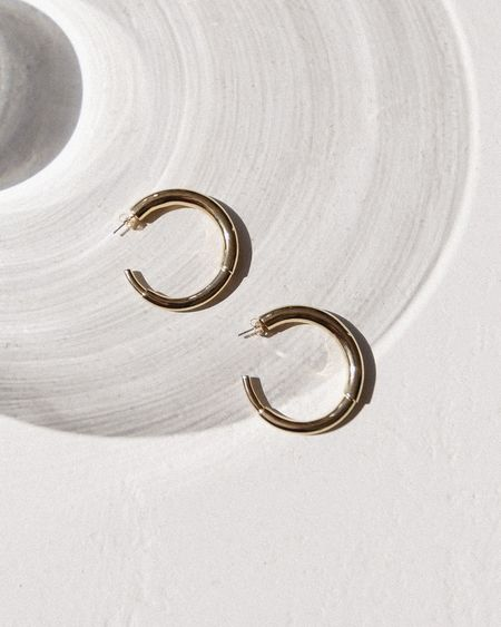 Sophie Blake Maggie Hoop Earrings