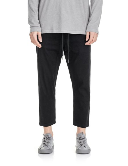 COMMONERS Relaxed Crop Pant - Black