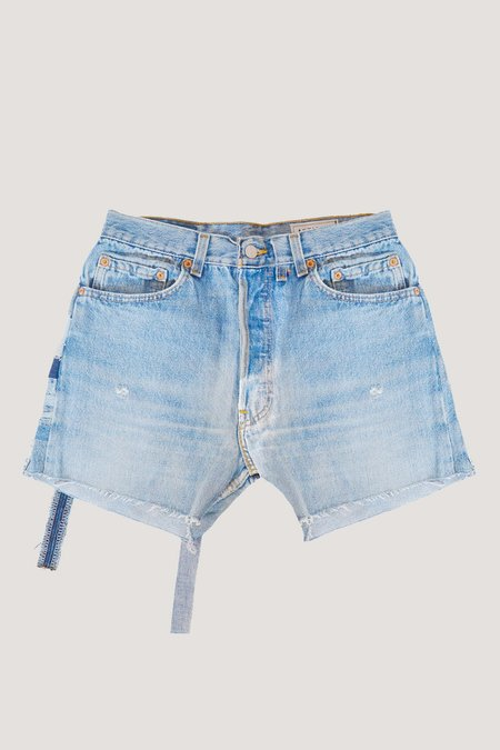 ANTIDOTE x WYLDE Denim Shorts - Vintage light wash