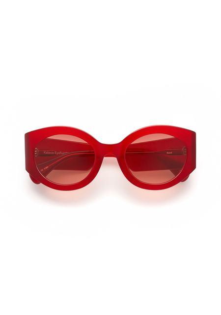 Kaleos Reed Sunglasses - Red