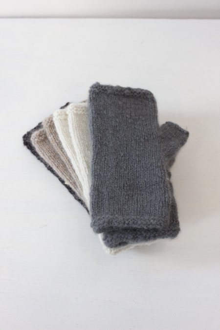 Dawn Bryfogle Handspun Cashmere Fingerless Gloves