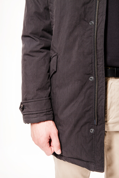 Scotch & Soda Lightweight Parka Jacket - Black