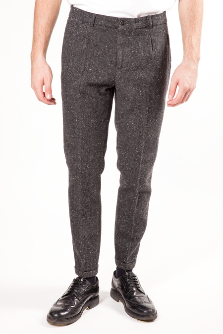 Scotch & Soda Blake Wool Pants - Charcoal