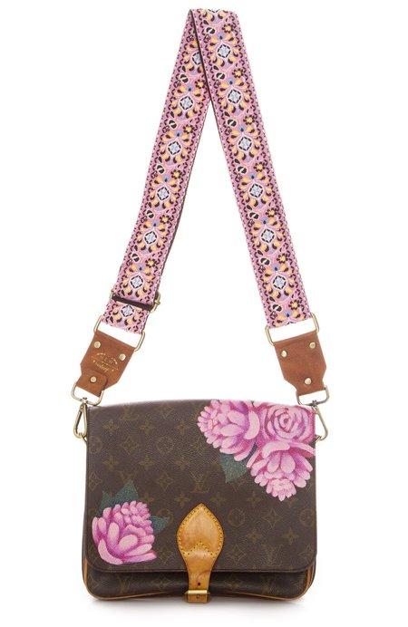 New Vintage Flowers Cross Body Bag