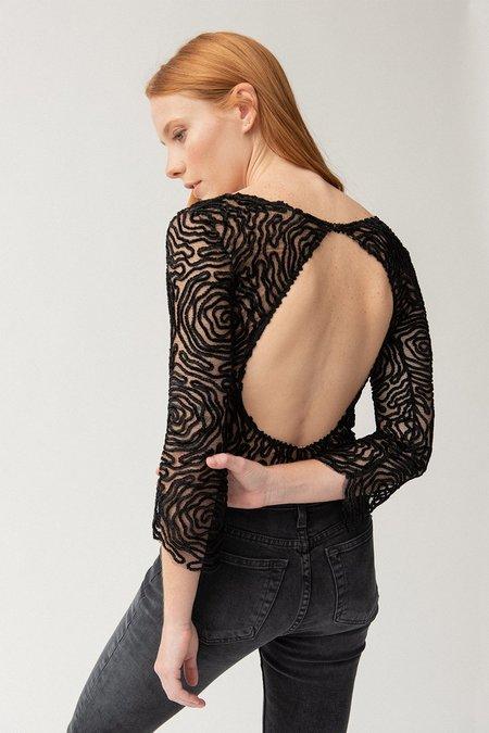 ALEXIA KLEIN Violette Bodysuit - Black