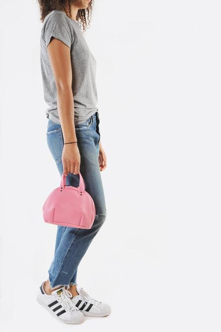Frrry Double Rivet Balloon Bag - Pink